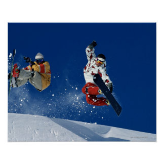 Snowboarding 8 poster