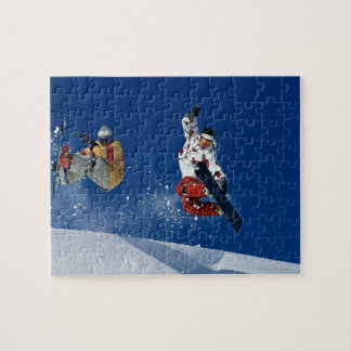 Snowboarding 8 jigsaw puzzles