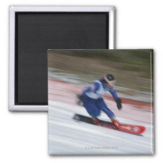 Snowboarding 9 magnet