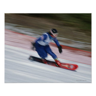Snowboarding 9 poster