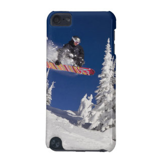 Snowboarding action at Whitefish Mountain Resort iPod Touch 5G Cover