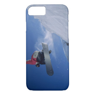Snowboarding at Snowbird Resort, Utah (MR) iPhone 8/7 Case
