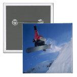 Snowboarding at Snowbird Resort, Utah (MR) Pins