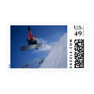 Snowboarding at Snowbird Resort, Utah (MR) Postage
