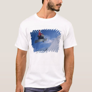 Snowboarding at Snowbird Resort, Utah (MR) T-Shirt