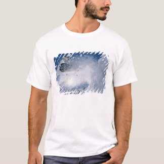 Snowboarding at Snowbird Resort, Wasatch T-Shirt