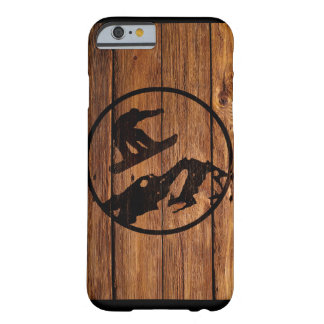 Snowboarding Barely There iPhone 6 Case
