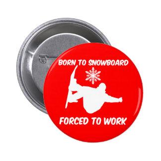 Snowboarding Button