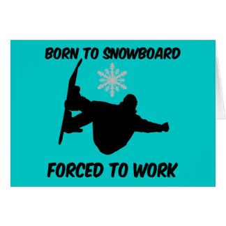 Snowboarding Cards