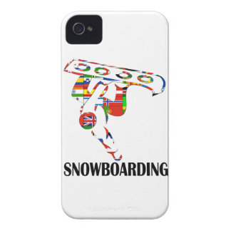 Snowboarding Case-Mate iPhone 4 Case