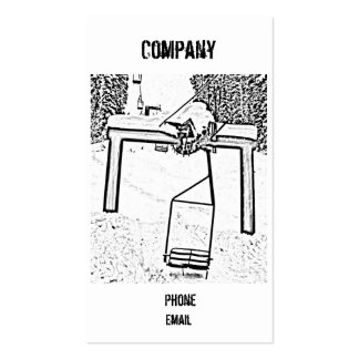 snowboarding, Company, Phone, Email Business Card