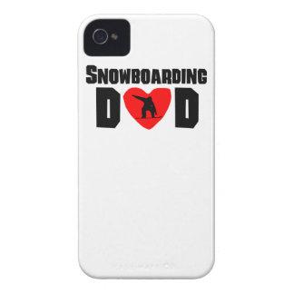 Snowboarding Dad Case-Mate iPhone 4 Case