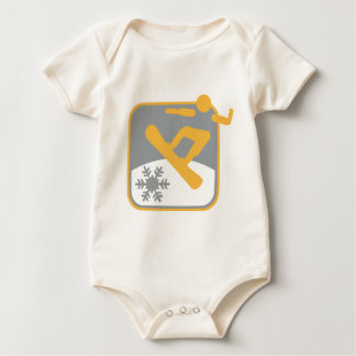 Snowboarding_dd.png Baby Bodysuit