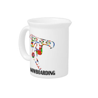 Snowboarding Drink Pitchers