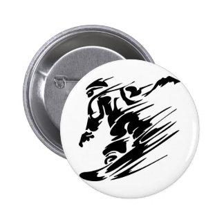 Snowboarding Extreme Sports 2 Inch Round Button