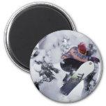Snowboarding Fridge Magnets