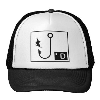 Snowboarding Hooked Hat
