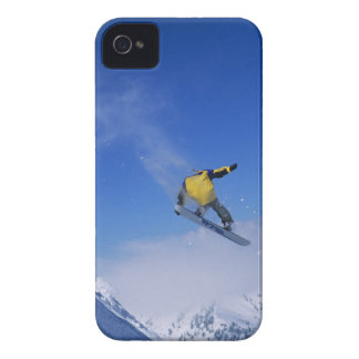 Snowboarding in Grizzly Gulch, Little Cottonwood Case-Mate iPhone 4 Cases