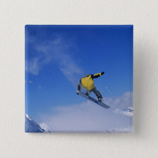 Snowboarding in Grizzly Gulch, Little Cottonwood Pinback Button
