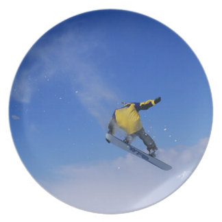 Snowboarding in Grizzly Gulch, Little Cottonwood Plate