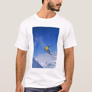 Snowboarding in Grizzly Gulch, Little Cottonwood T-Shirt