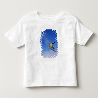 Snowboarding in Grizzly Gulch, Little Cottonwood Toddler T-shirt