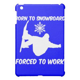 snowboarding iPad mini covers