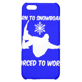 snowboarding iPhone 5C covers