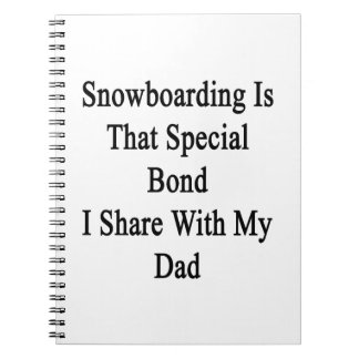 Snowboarding Is That Special Bond I Share With My Note Book