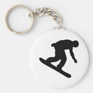Snowboarding Keychains