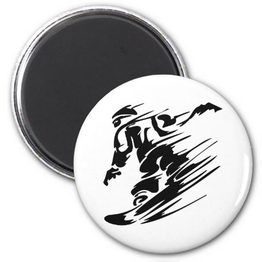 SNOWBOARDING MAGNETS