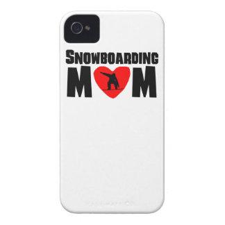 Snowboarding Mom Case-Mate iPhone 4 Cases
