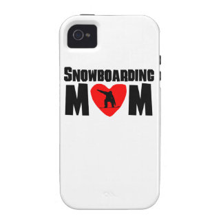 Snowboarding Mom Vibe iPhone 4 Covers