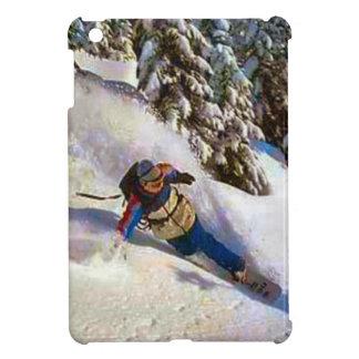 Snowboarding off piste iPad mini covers