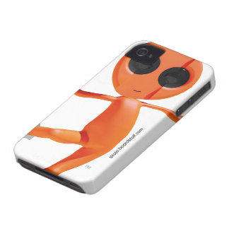 Snowboarding Orange Alien Blackberry Bold Case