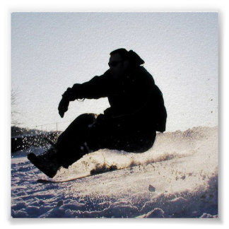 Snowboarding Pictures Print