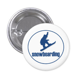 Snowboarding Pin