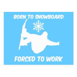 Snowboarding Postcards