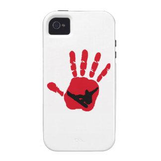 SNOWBOARDING RED HOTTTTTTTTT CASE FOR THE iPhone 4