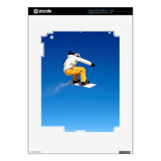 Snowboarding Decal For iPad 2