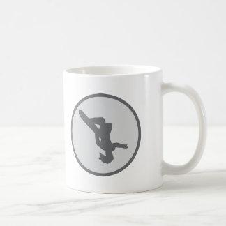 snowboarding snowboard jump coffee mug