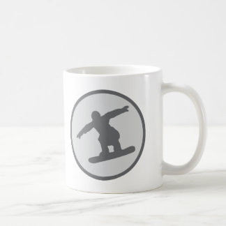 snowboarding snowboarder jump coffee mug