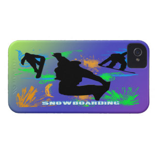 Snowboarding - Snowboarders Case-Mate Case iPhone 4 Case-Mate Cases