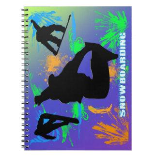 Snowboarding - Snowboarders Notebook
