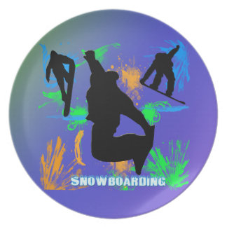 Snowboarding - Snowboarders Plate