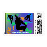 Snowboarding - Snowboarders Postage
