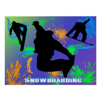 Snowboarding - Snowboarders Poster