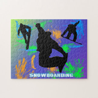 Snowboarding - Snowboarders Puzzle