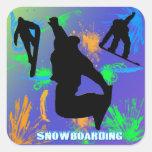 Snowboarding - Snowboarders Sticker