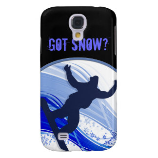 Snowboarding & Snowflakes Samsung S4 Case